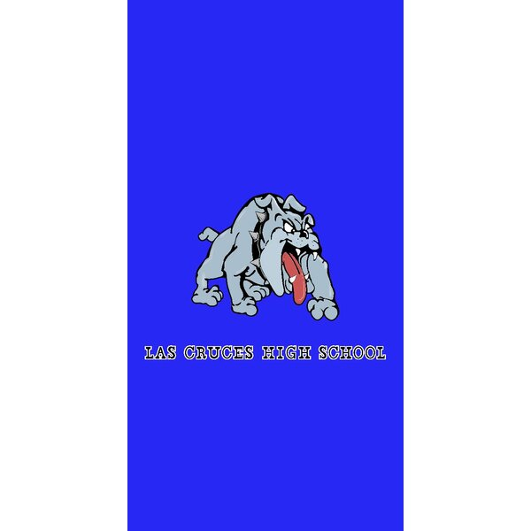 Las Cruces New Mexico High School 100% Cotton Beach Towel by The Beach Collection